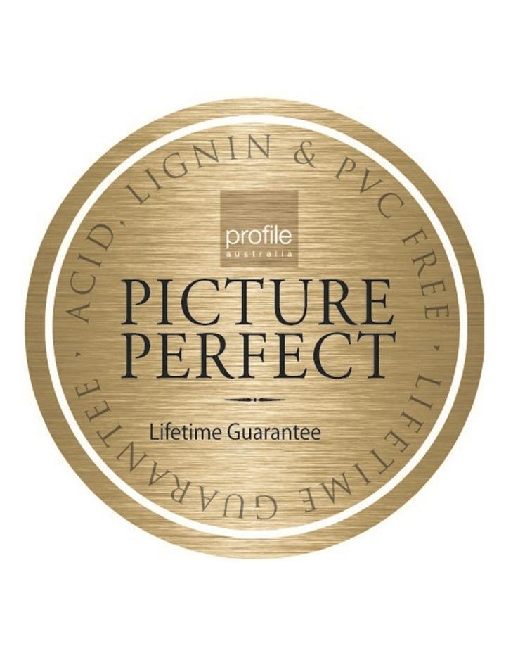 Moda 500 4x6in (10x15cm) Photo Capacity Photo Album in Black image 3