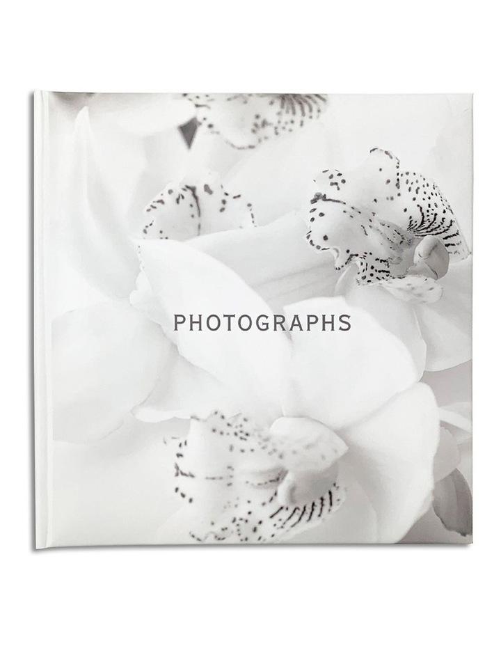 Orchid Noir Slip-in 4x6 200 Photo Capacity Photo Album in White image 1