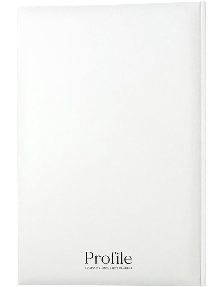Orchid Noir Slip-in 4x6 300 Photo Capacity Photo Album in White image 2