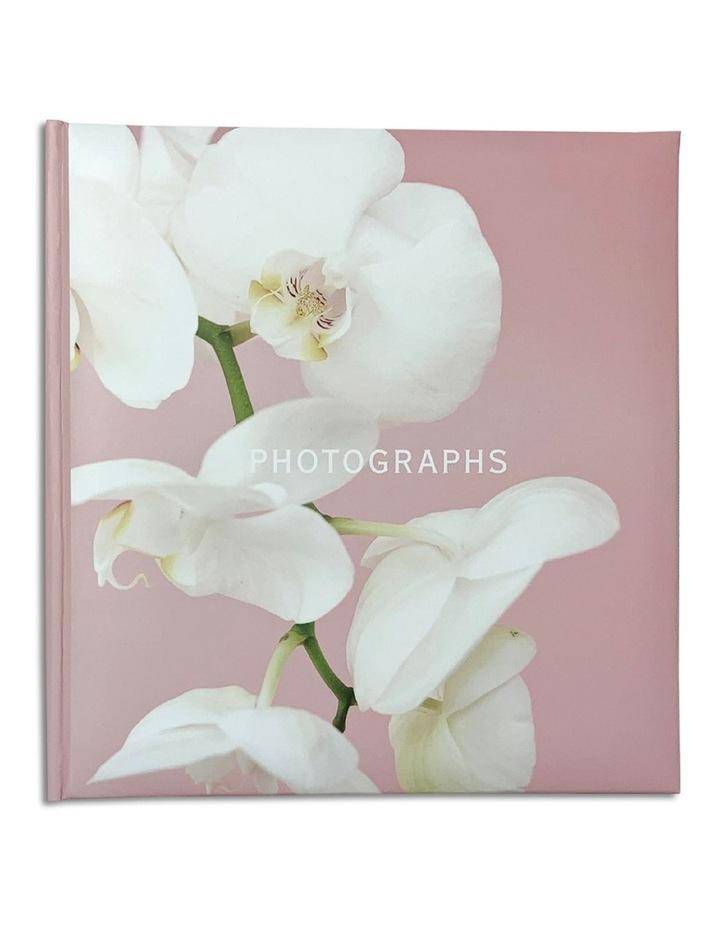 Kyoto Slip-in 4x6 200 Photo Capacity Photo Album in Pink image 1