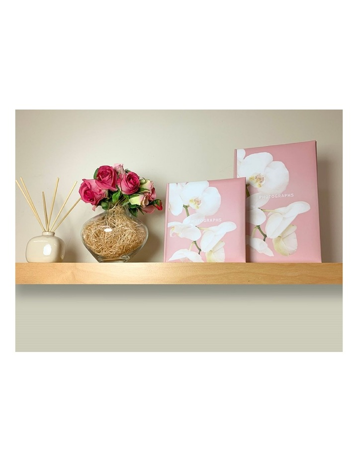 Kyoto Slip-in 4x6 200 Photo Capacity Photo Album in Pink image 5