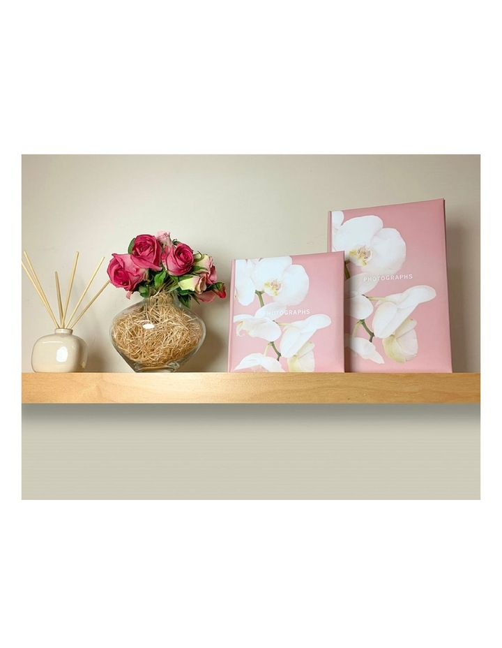 Kyoto Slip-in Slip-in 4x6 300 Photo Capacity Photo Album in Pink image 5