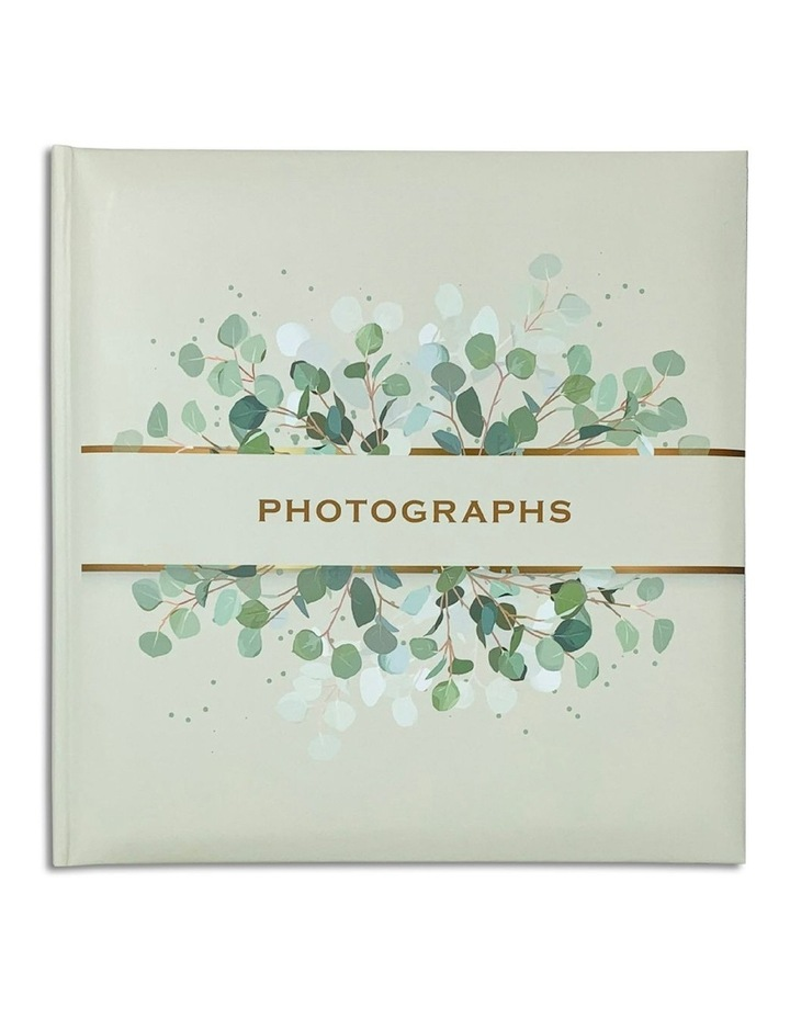 Spring Leaves Slip-in 4x6 200 Photo Capacity Photo Album in Green image 1