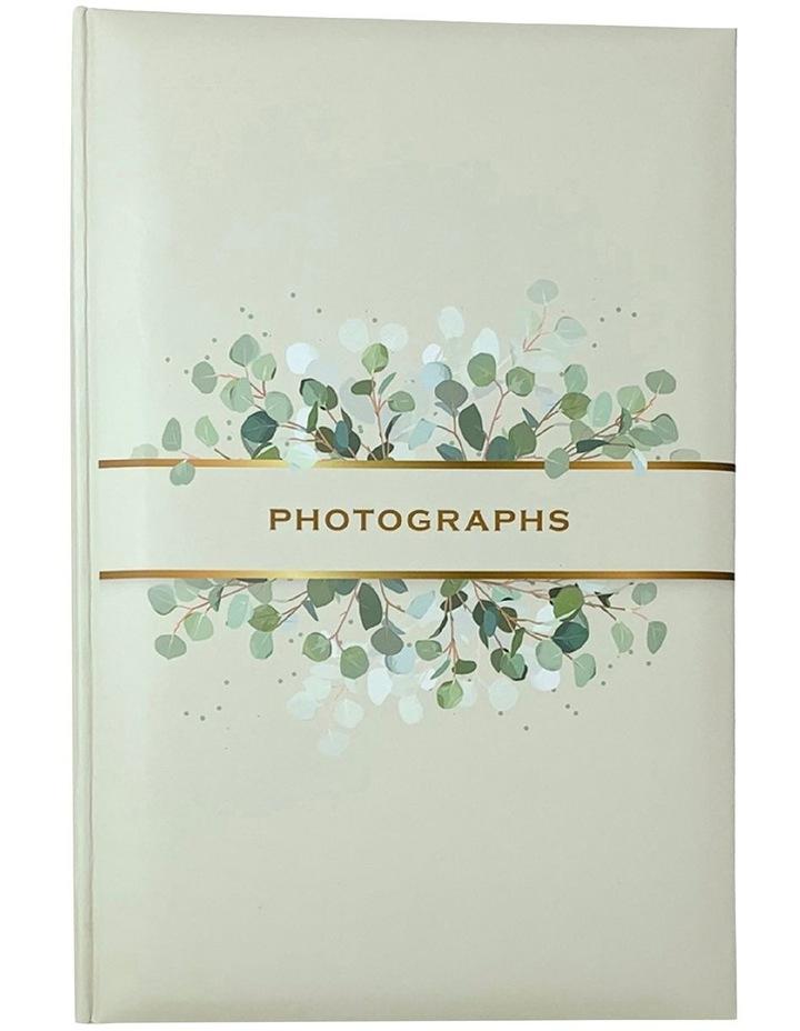 Spring Leaves Slip-in 4x6 300 Photo Capacity Photo Album in Green image 1