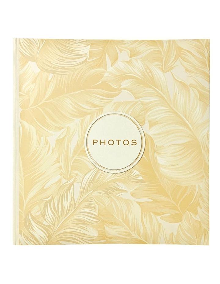Golden Palms 200 Capacity Photo Capacity Photo Album in Yellow image 1
