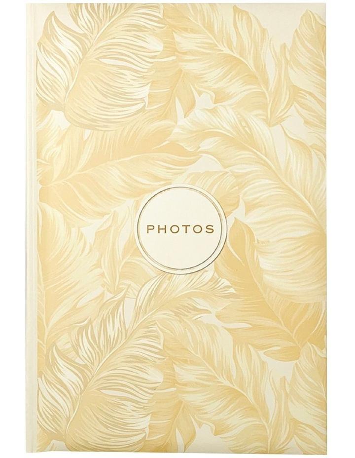 Golden Palms 300 Capacity Photo Capacity Photo Album in Yellow image 1
