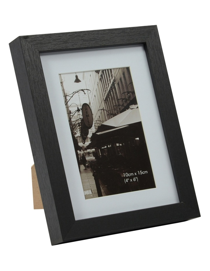 Essence Matt Board Photo Frame  20x30cm - Black image 1