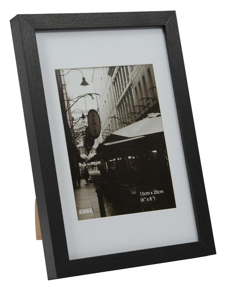 Essence Matt Board Photo Frame  20x25cm - Black image 1