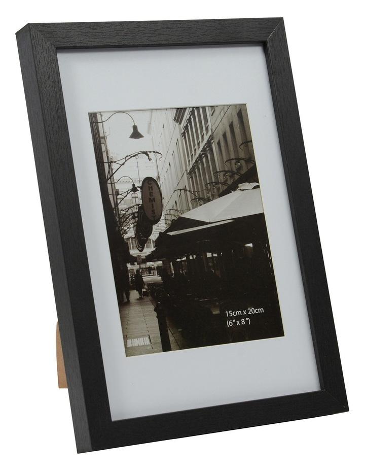 Essence Matt Board Photo Frame  20x25cm - Black image 2