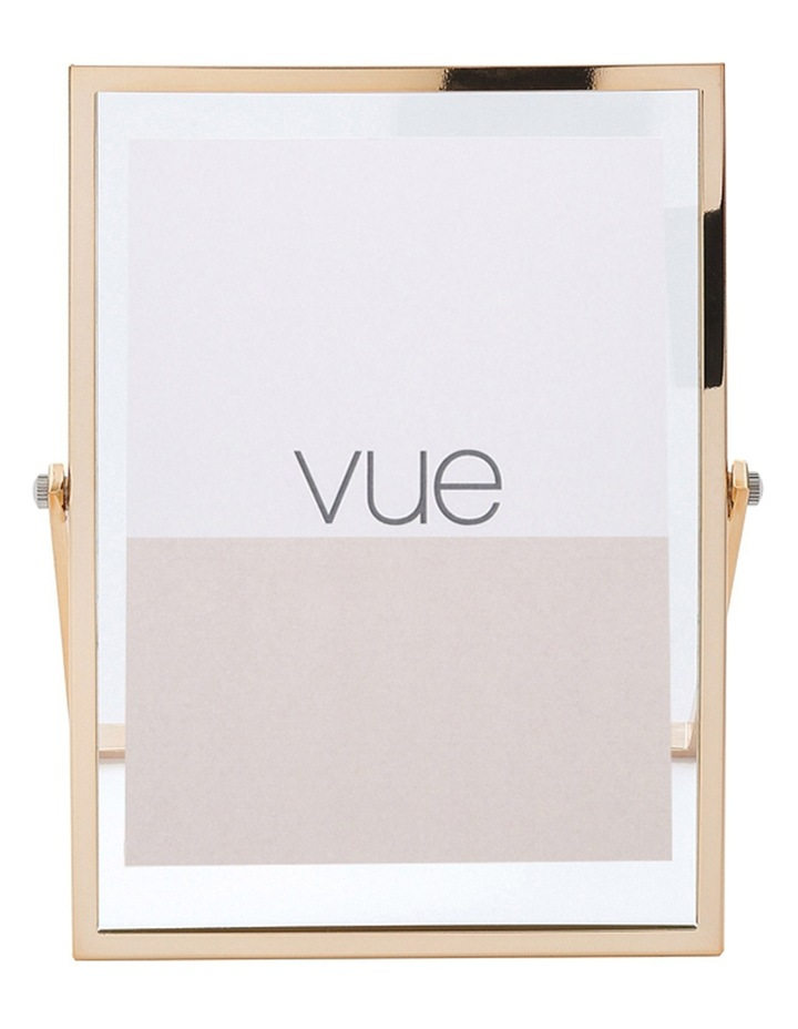 Vue Abbie Gold Glass 10 x 15 cm Photo Frame image 1