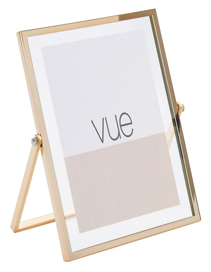 Vue Abbie Gold Glass 10 x 15 cm Photo Frame image 2