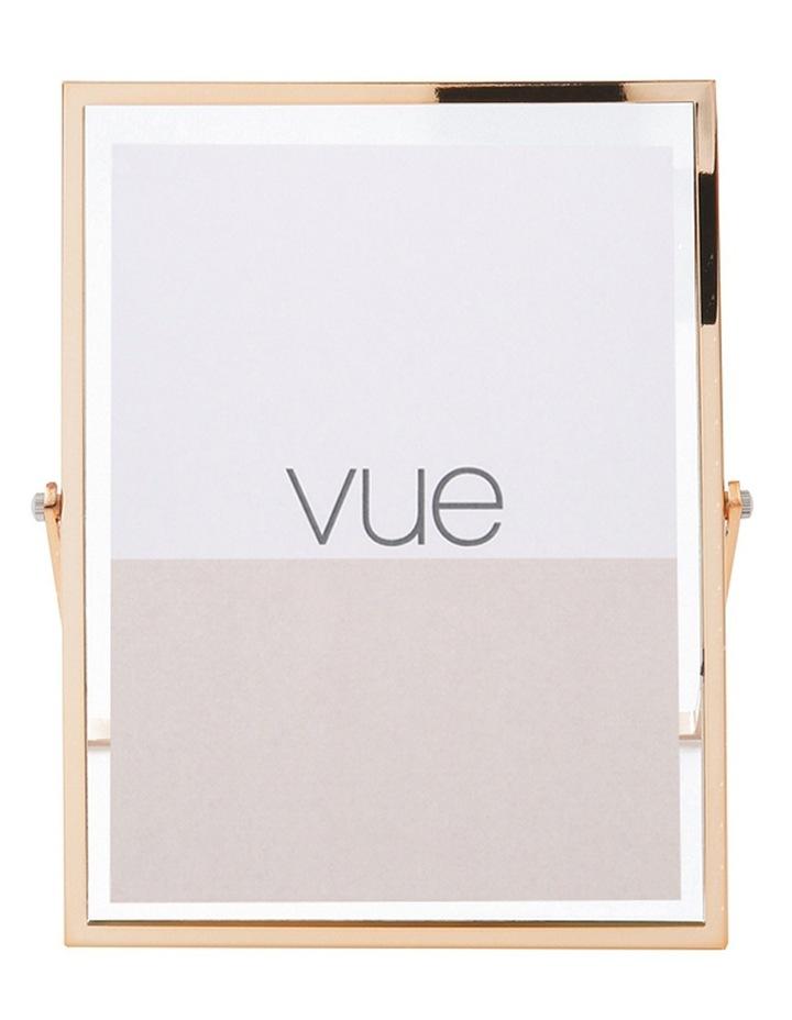 Vue Abbie Gold Glass 13 x 18 cm Photo Frame image 1
