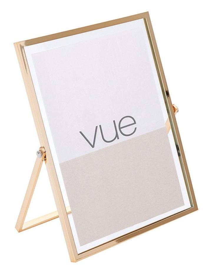 Vue Abbie Gold Glass 13 x 18 cm Photo Frame image 2