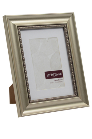 Heritage Heritage Amour 6x8cm Champagne Photo Frame With 4x6cm
