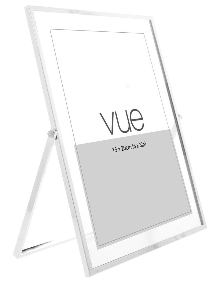 Abbie Silver Glass Photo Frame 15x20cm image 2