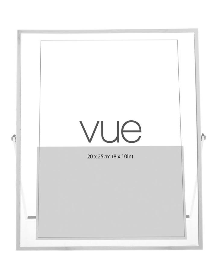 Abbie Silver Glass Photo Frame 20x25cm image 1