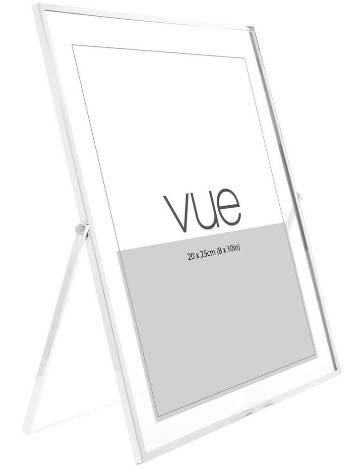 Abbie Silver Glass Photo Frame 20x25cm image 2