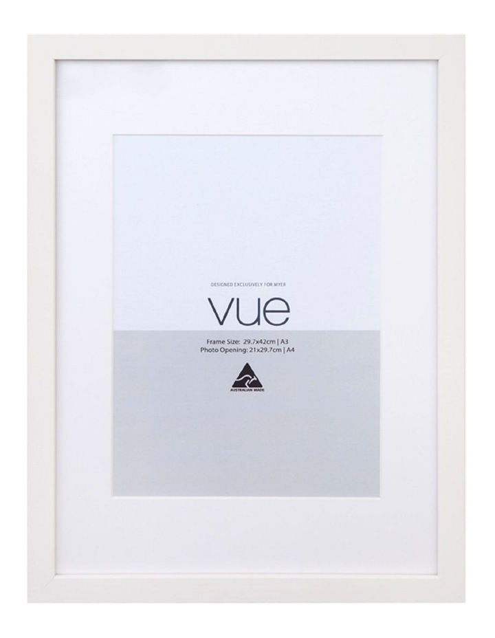 White Photo Frame A3 to A4 image 1
