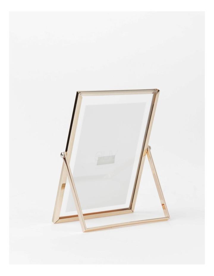 Abbie Glass Photo Frame 10x15cm Rose Gold image 3