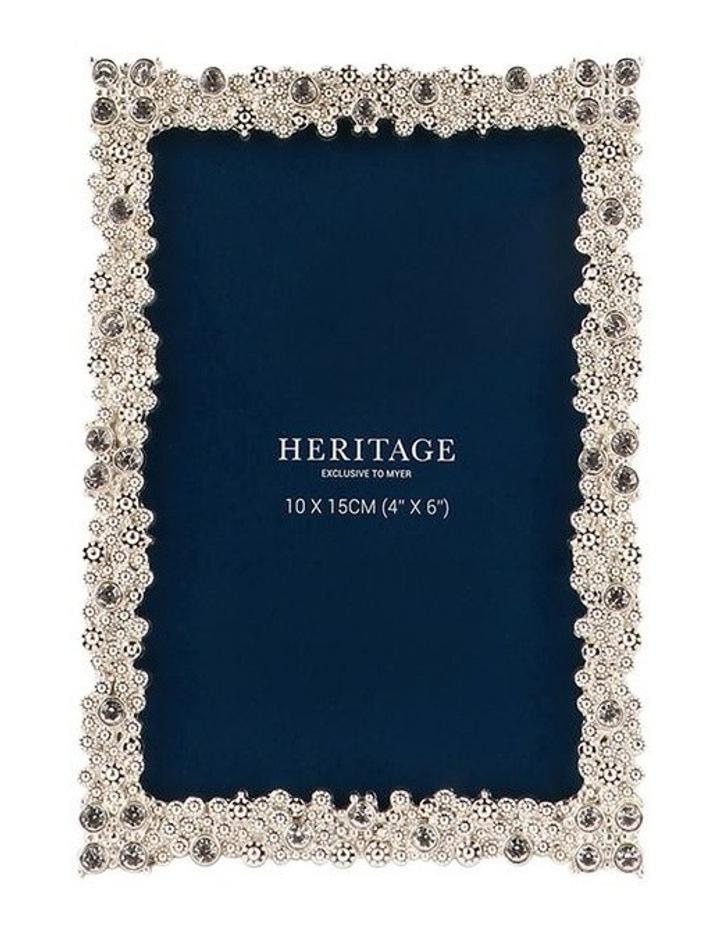 Heritage Dover Silver Photo Frame 10x15cm image 1