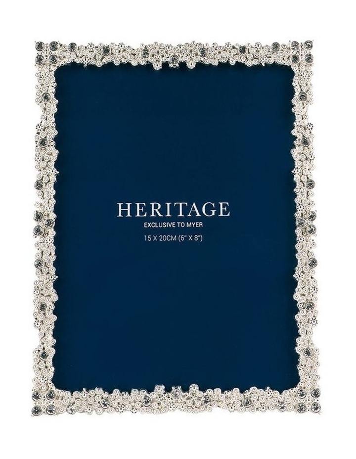 Heritage Dover Silver Photo Frame 15x20cm image 1