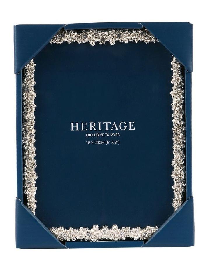 Heritage Dover Silver Photo Frame 15x20cm image 3