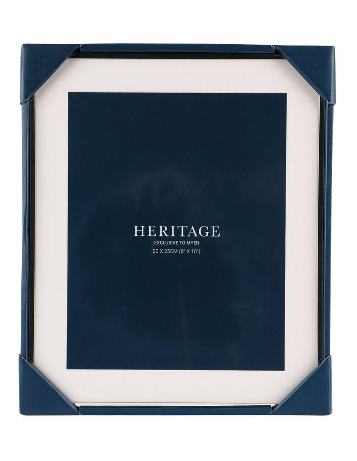 Heritage Matte Silver Metal Frame 20x25cm image 3