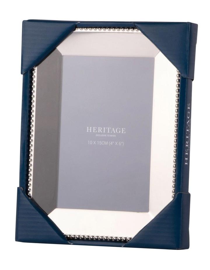 Heritage Caroline Shiny Silver Metal Frame 10x15cm image 3