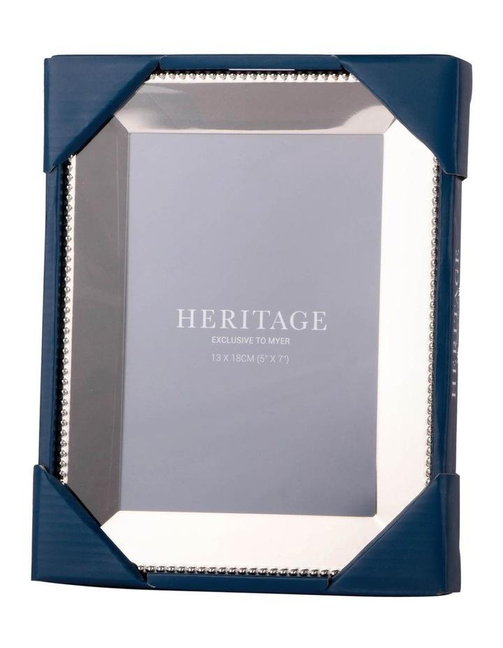 Heritage Caroline Shiny Silver Metal Frame 13x18cm image 3