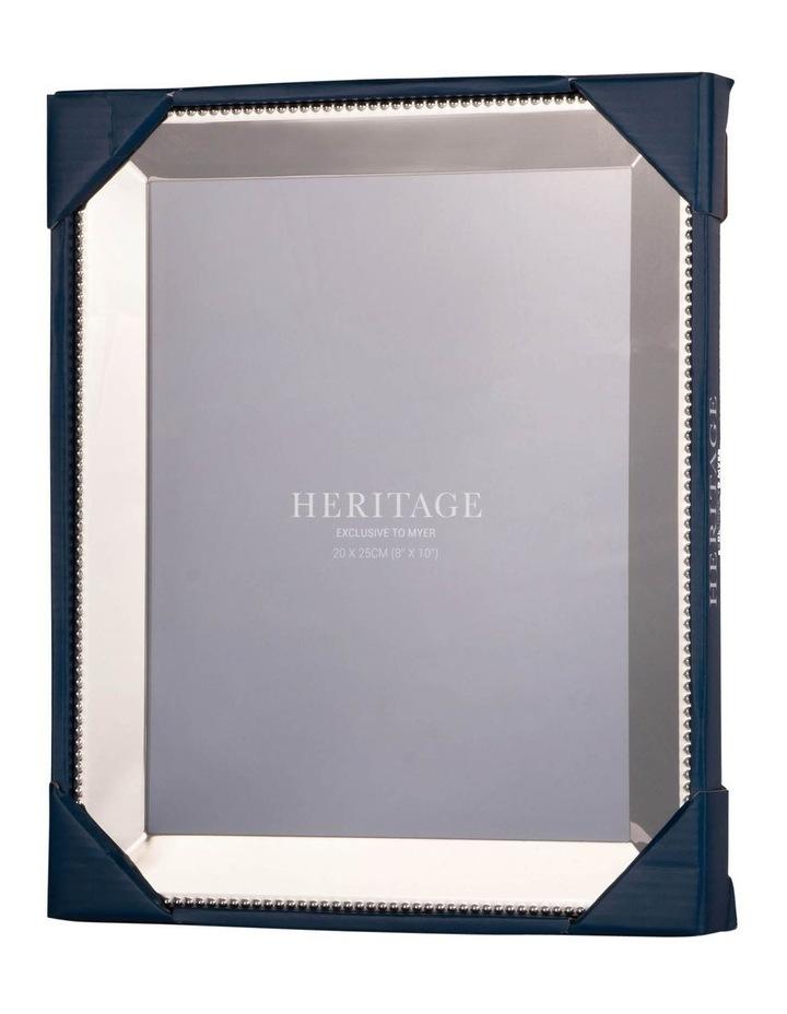 Heritage Caroline Shiny Silver Metal Frame 20x25cm image 3
