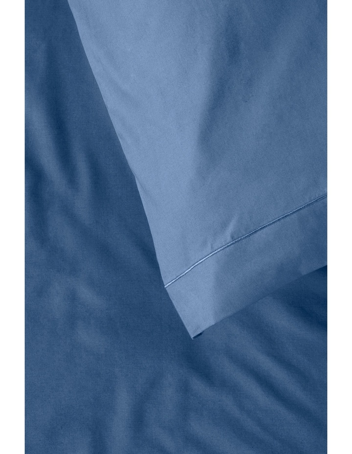 400 Thread Count Crisp & Fresh Egyptian Cotton Deep Fitted Sheet in Navy image 4