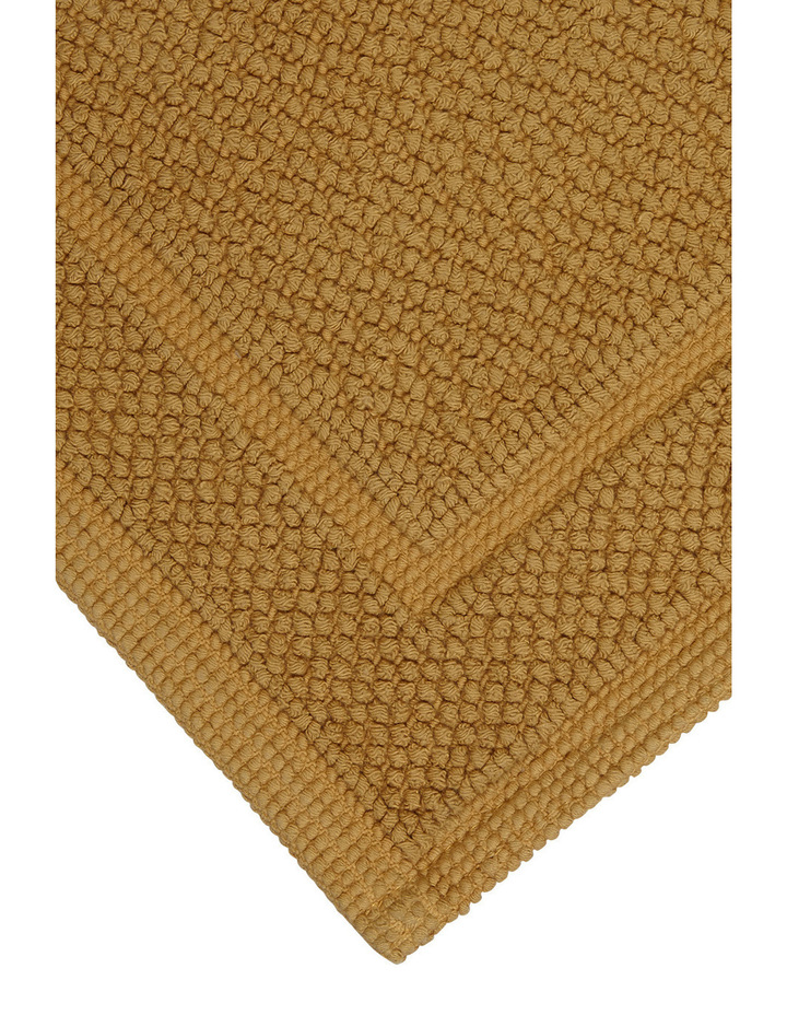 Boucle Bath Mat in Honey image 2