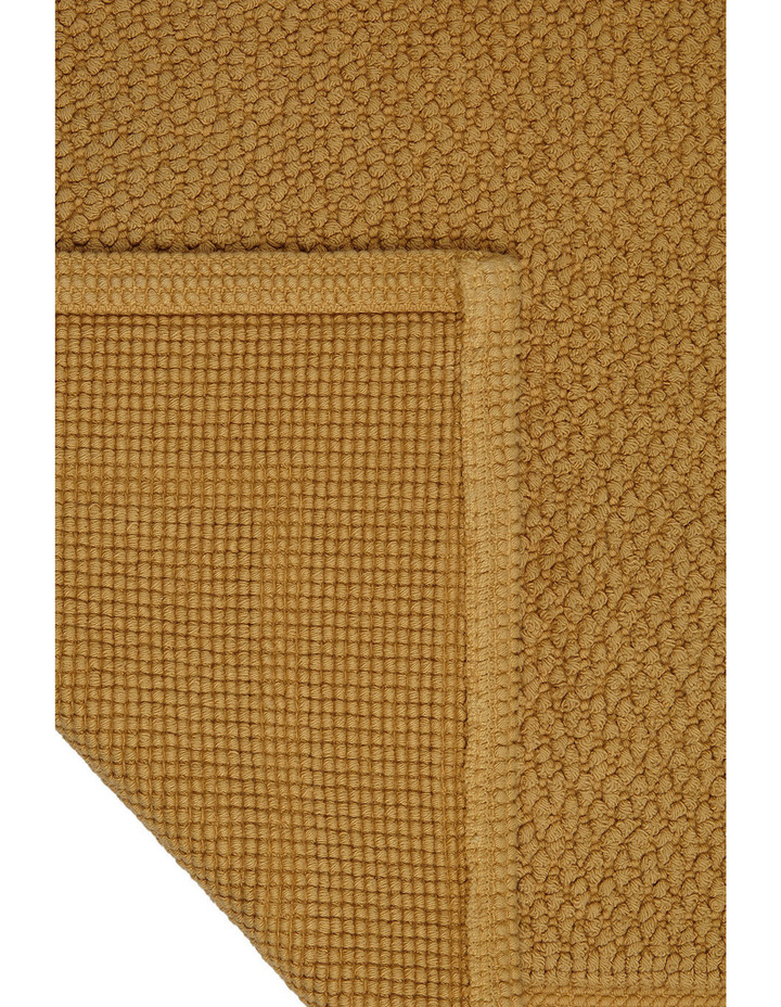 Boucle Bath Mat in Honey image 3