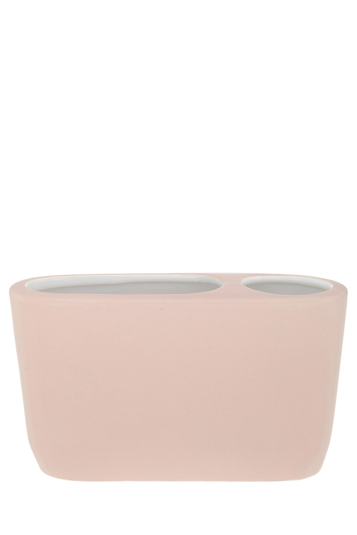 John Lewis | Lunda Plaster Ceramic Bathroom Accessories in Pink ...
