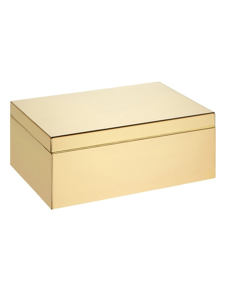 Design Project Jewellery Box: Small Gold image 1