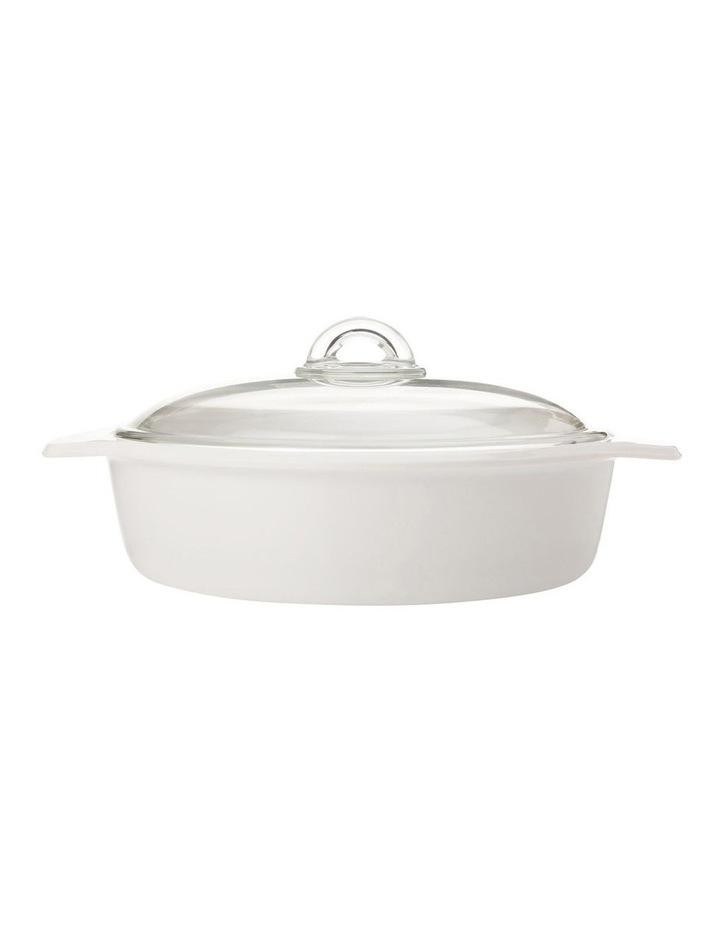 Round Casserole 2.5L - White image 1