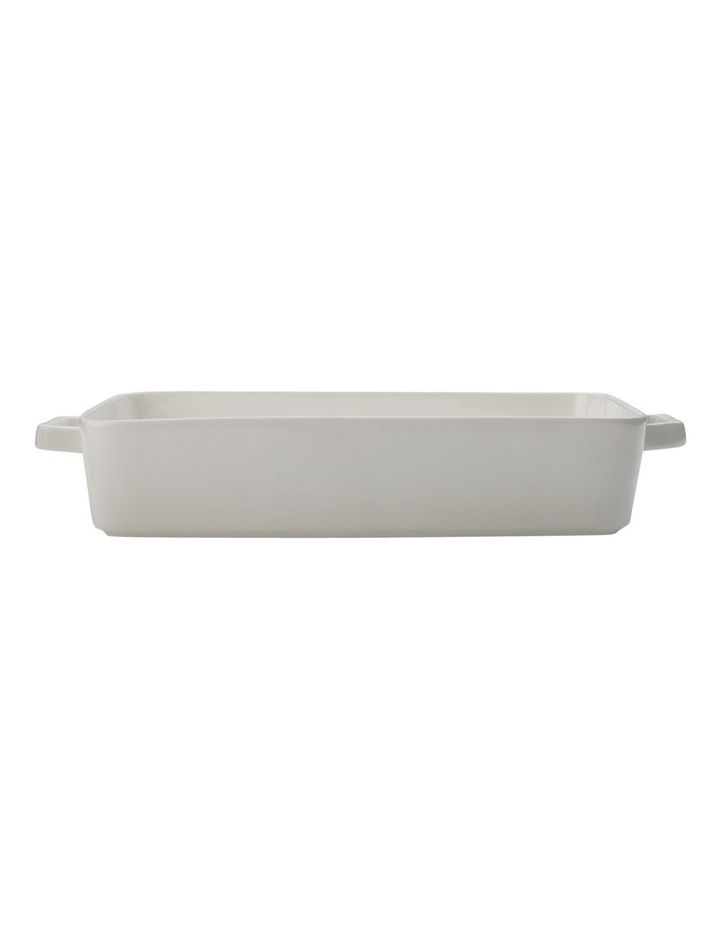 Lasagne Dish 36x24.5x7.5cm White Gift Boxed image 1