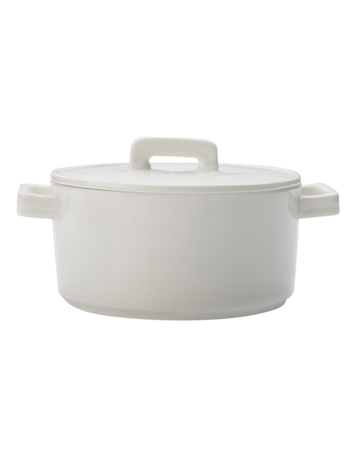 Round Casserole 1.3L White Gift Boxed image 1