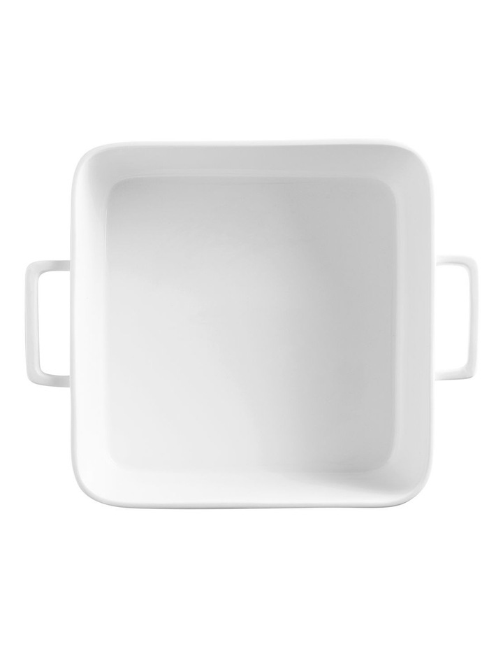 Epicurious Square Baker 24x8cm White Gift Boxed image 2