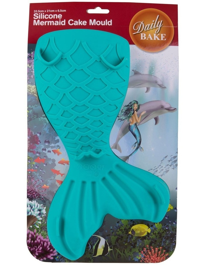 Silicone Mermaid Tail Cake Mould 33.5cm image 2