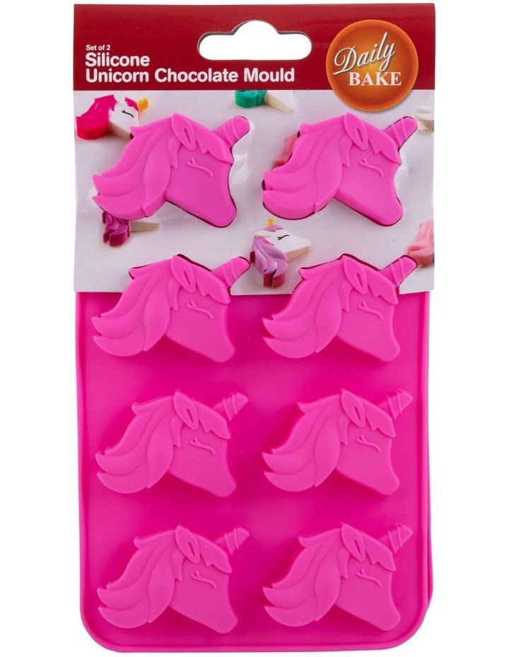 Silicone Unicorn 8 Cup Chocolate Mould Set 2 image 3