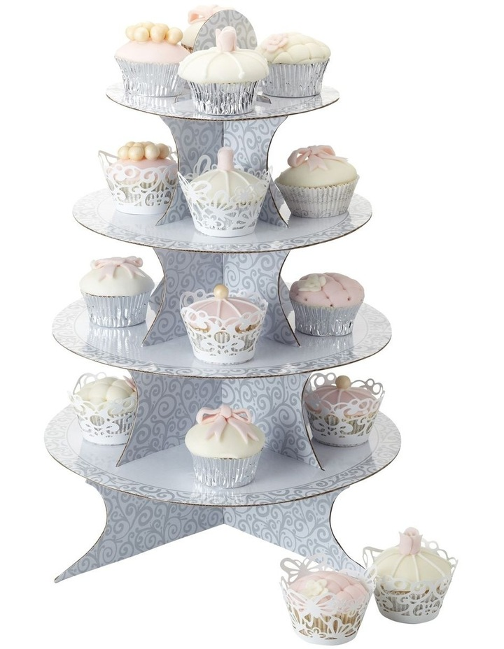 Sweetly Does It Fold Up Cupcake Stand 49cm image 1