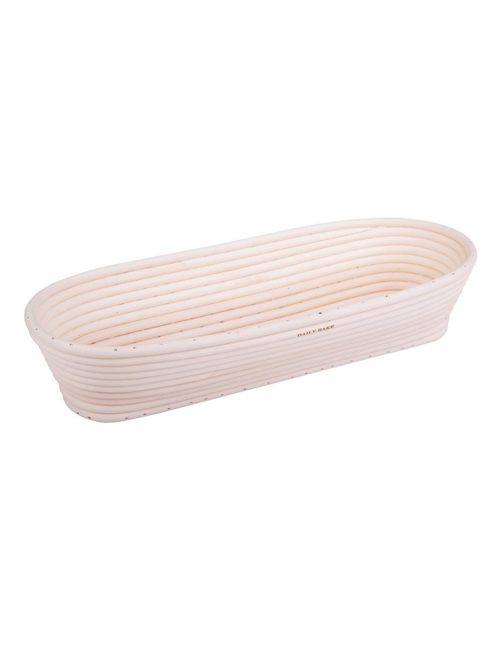 35x15x7cm Oval Proving Basket in Natural image 1