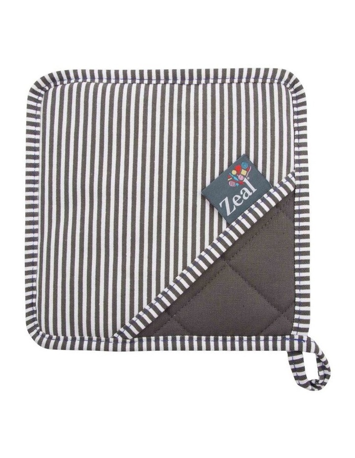 Zeal Silicone Square Oven mitt with Stripes Assortment image 2