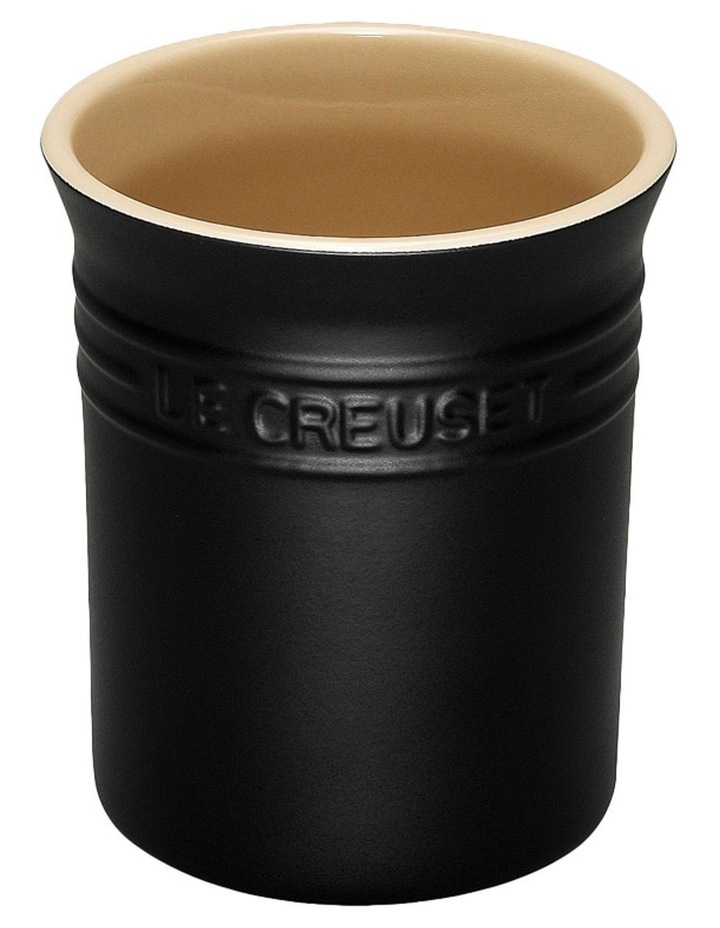 Utensil Jar - Satin Black image 1