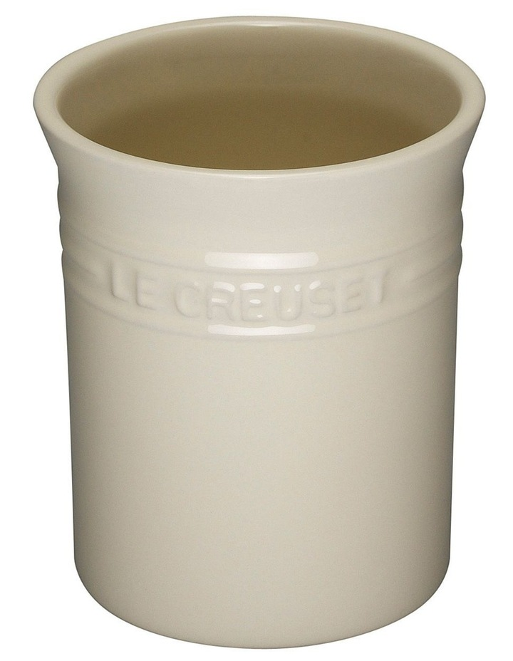 Small Utensil Jar-Creme image 1