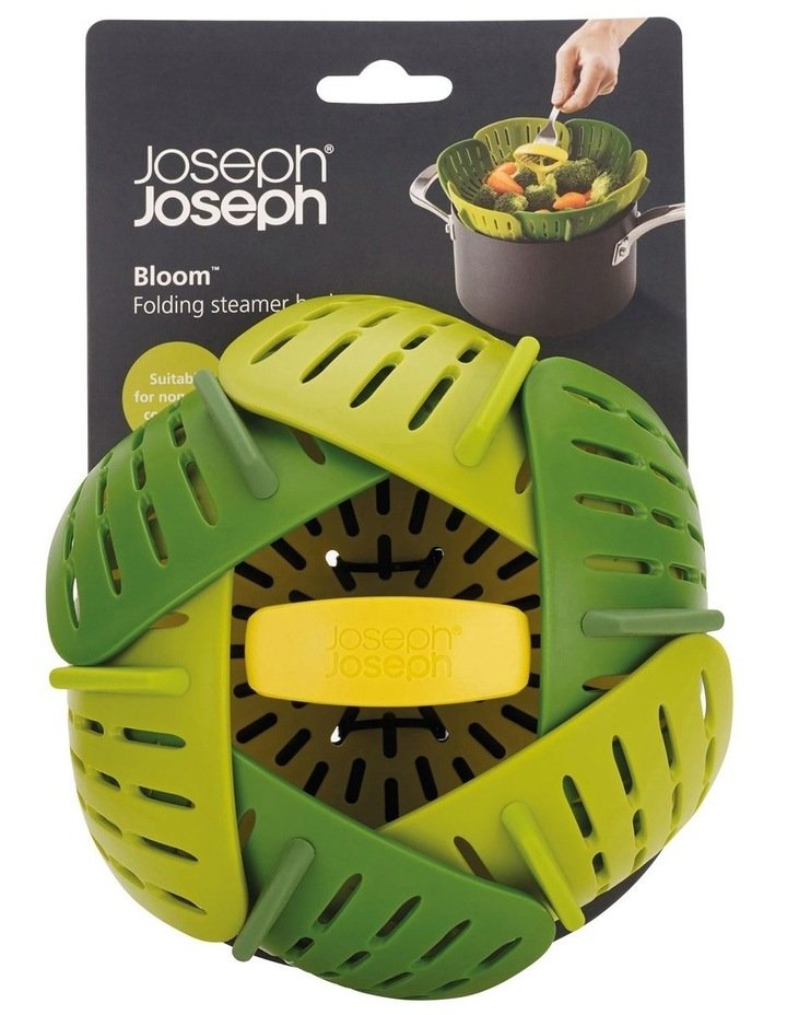 Bloom Folding Steamer Basket - Green image 1
