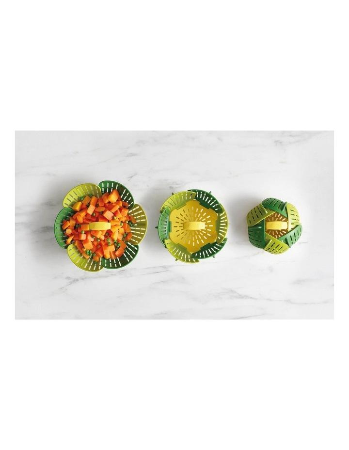 Bloom Folding Steamer Basket - Green image 2