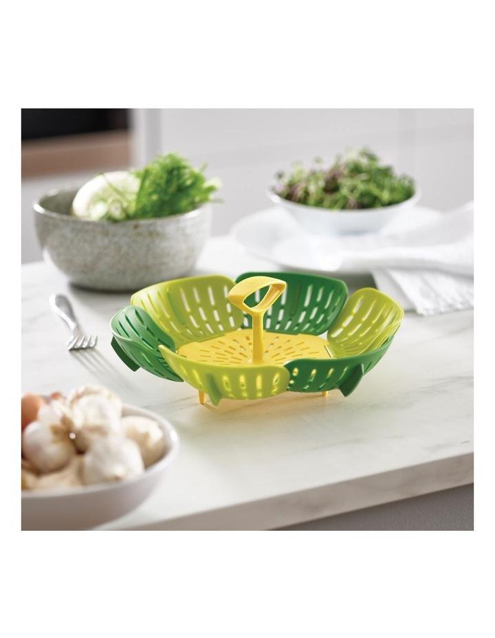 Bloom Folding Steamer Basket - Green image 3