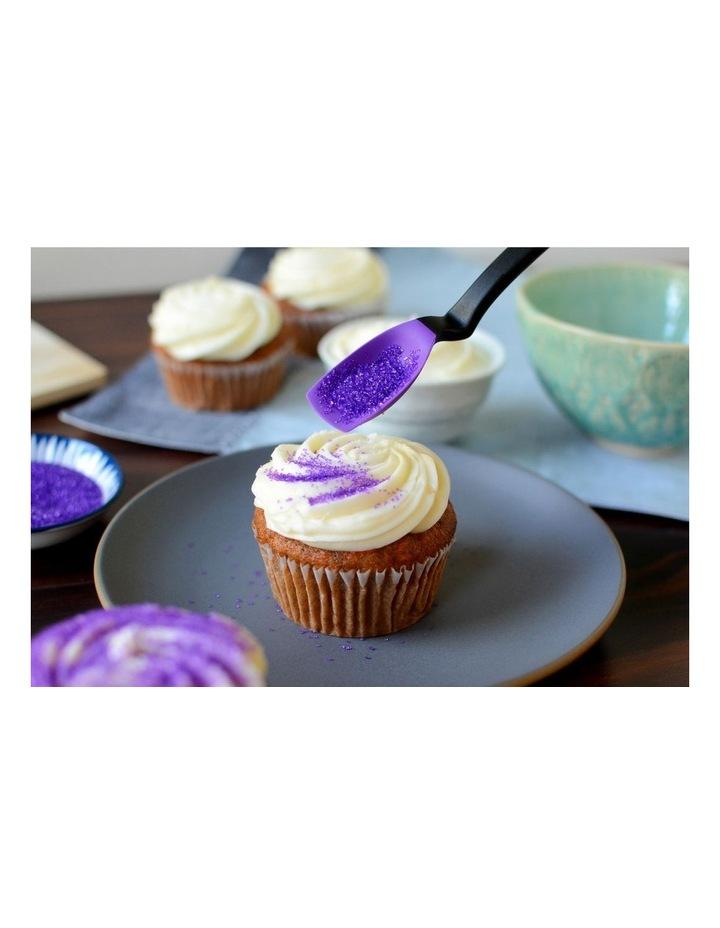 Mini Supoon sit up scraping teaspoon purple image 6